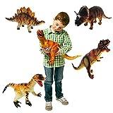 Grands dinosaures * 6 * assorties plastique Animaux enfants figurines [Jouet]