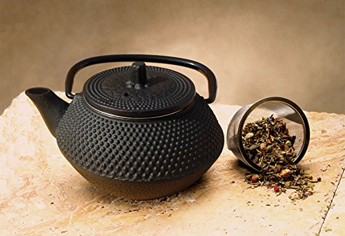 Product Image 2: Old Dutch Cast Iron Saga Teapot, 11-Ounce, Black