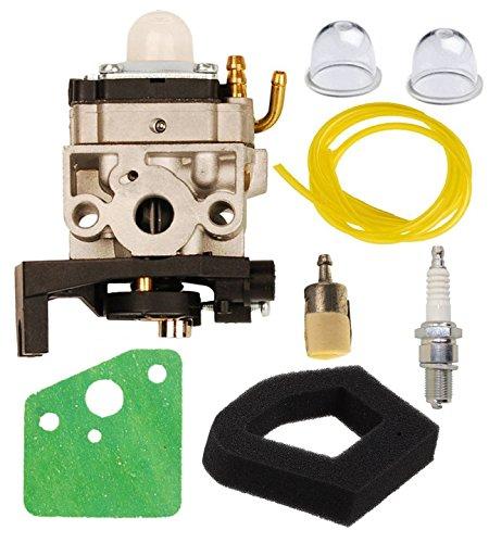 OxoxO Kit carburatore carburatore Aria Filtro Primer Lampadina Carburante Linea Filtro Candela Candela per Honda GX35 GX35NT decespugliatore decespugliatore Ricambio 16100-Z0Z-034