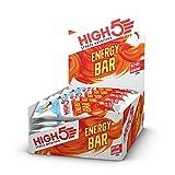HIGH5 Energy Bar, Barretta Energetica con Frutta Vera, Adatta per Vegani, Senza Dolcificanti...