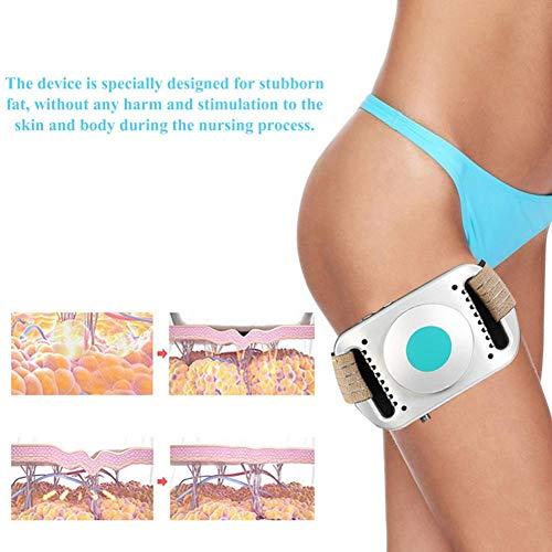 Body Shaping Machine, Lipolysis Substance & Cold Freeze Fat Massage Belt Tools(White) 3