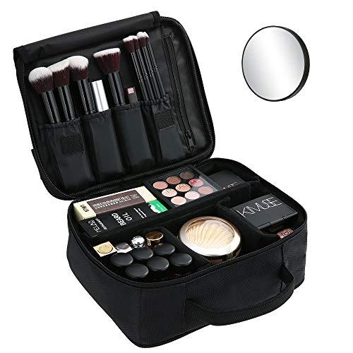 esonmus Trousse de Maquillage + 1 Miroir,Grand Sac de Maquillage...