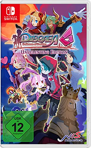 Disgaea 6: Defiance of Destiny Unrelenting Edition (Switch)