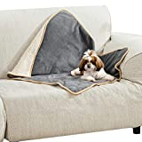Bedsure Waterproof Dog Blanket for Small Dogs - Sherpa Fleece Pet Puppy Blanket for Couch and Sofas Beds, Soft Plush Reversible Dog Throw Protector Cat Blankets, Machine Washable, 25x35