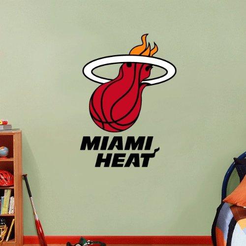 skyhighprint - Miami Heat NBA Basketball Wall Decor Sport Print Vinyl Sticker 25'' X 18''
