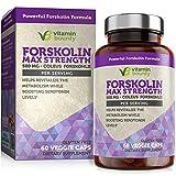 Vitamin Bounty Forskolin - Non GMO, Gluten Free & Made in USA - Coleus Forskohlii Extract 60ct