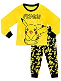 Pokemon - Ensemble De Pyjamas - Pokemon - Garçon - Pikachu - Jaune/Noir - 5 - 6...