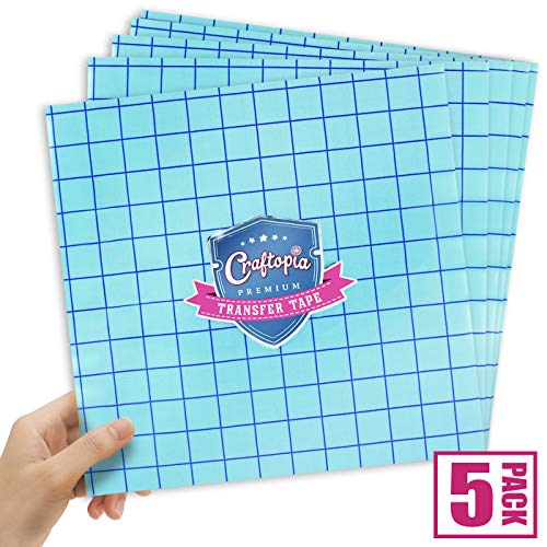 Clear Vinyl Transfer Tape with Grid