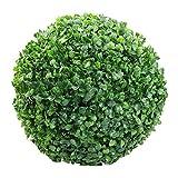 Woorea Bola Verde de Plstico Simulada, Bola de Madera de Boj,Bola de Hierba Artificial, Decoracin para el Hogar y el Jardn, Decoracin para Fiesta de Boda
