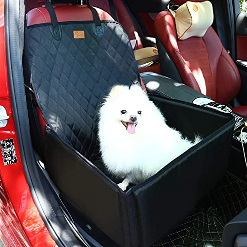 PETTOM Pet Bucket Seat Cover Booster Seat 2 in 1...