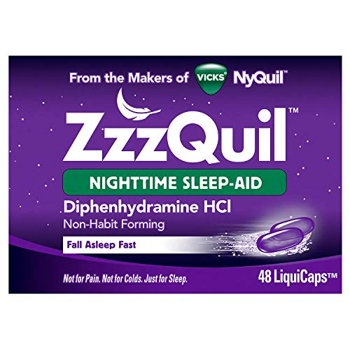 ZzzQuil, Nighttime Sleep Aid LiquiCaps, 25 mg...