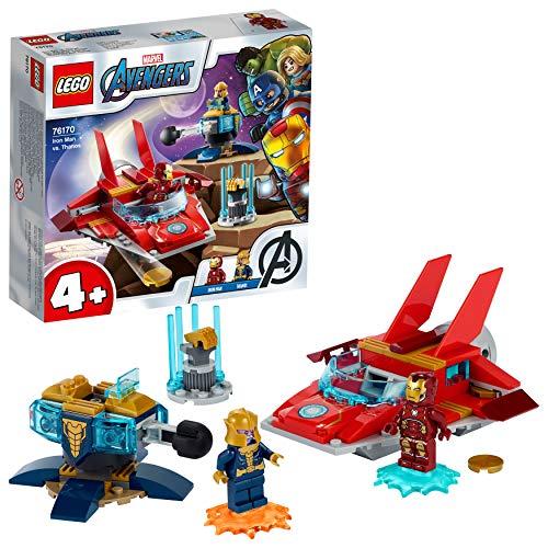 LEGO76170MarvelAvengersIronManvs.ThanosmitJetund2SuperheldenFiguren,Spiel...