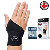 Doctor Developed Premium Copper Lined Wrist Support/Wrist Strap/Wrist Brace/Hand Support [Single]& Doctor...