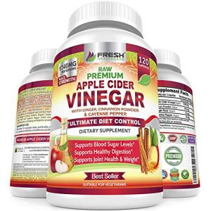 Premium Apple Cider Vinegar Pills Max 1740mg with Mother - 100% Natural & Raw with Cinnamon, Ginger & Cayenne Pepper… 12 - My Weight Loss Today