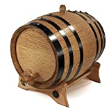 2 Liter Whiskey Oak Barrel for...