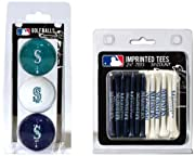 Product dimensions (inches): 4 x 4.5 x 7; Weight: 0.52 lbs A great way to show off your team spirit while teeing up your next ball Features include: Full color durable imprint, Tees and balls are regulation size Set includes: 3 multi-colored golf bal...
