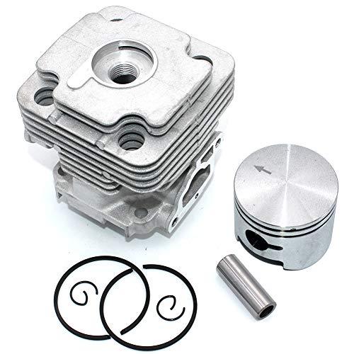 P SeekPro Kit pistone Cilindro 45mm per Oleo-Mac 453BP Ergo 753S 753T OS530 Ergo OS550 Ergo Efco...
