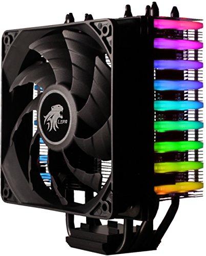Amazon限定 RGB LED 12cmサイドフローCPUクーラー LEPA Neollusion RGB LPANL12-MS