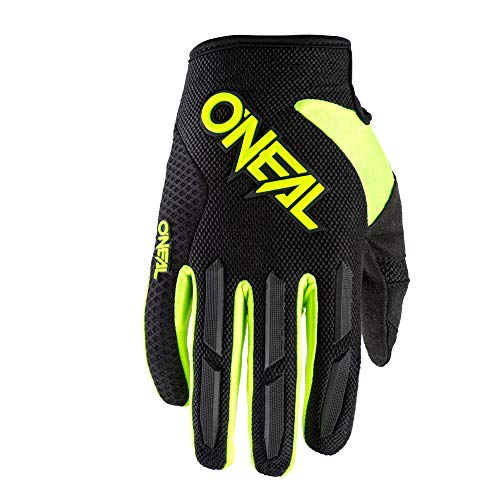 Oneal Element Glove Neon Yellow L/9 Protezioni MX Motocross, Adulti Unisex