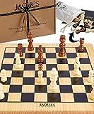Jaques of London Jeu d'échecs Complet avec pièces - Qualité...