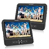 FANGOR Double Ecran 7.5'' Lecteur DVD Portable Voiture 1024 * 600 avec de...
