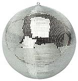 Boule à facettes disco couleur argent brillant de 20,3cm - FXLab G007A