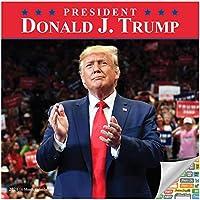 第45代大統領ドナルド・J・トランプ・カレンダー 2021セット - デラックス2021トランプ壁カレンダー 100枚以上のカレンダーステッカー付き (マグギフト、オフィス用品)