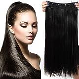 26' Extension Cheveux a Clip Monobande - Extension a Clip 66CM(26 pouces) -...