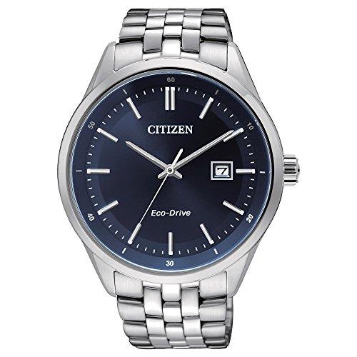 CITIZEN Herren Analog Quarz Uhr mit Edelstahl Armband BM7251-53L