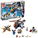 LEGO Marvel Super Heroes - L'hélicoptère des Avengers, Jouet Marvel Enfant 8...
