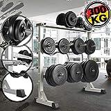 Support pour Haltères - Musculation, Charge Max. 300 kg, 100 x 95 x 47 cm,...
