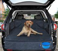 Telo auto per cani - protezione portabagagli per tutte le auto - materiale di alta qualità - raccoglie umidità, sporcizia e peli - copertura stabile con protezione laterale 185*105*36 cm di SMARTPEAS