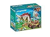 Playmobil 9432 - Explorateur avec véhicule et stégosaure