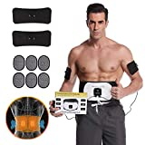 Ben Belle ABS Stimulator Muscle Toner & Abdominal Trainers & Ab Machine - Abdominal Ab Stimulator- Muscle Stimulator at Home- Workout Equipment