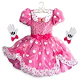 Disney Minnie Mouse Costume for Kids - Pink Size 4 Pink