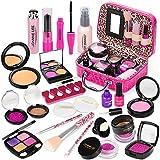 Sanlebi Faux Maquillage Enfant Jouet Filles, 22PCS Malette Maquillage Jouet...