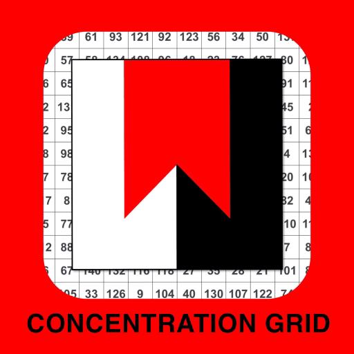Concentration Grid - mental focus grids