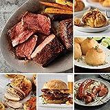 Premium Sirloin Grill Pack from Omaha Steaks (Top Sirloins, Boneless Chicken Breasts, Omaha Steaks Burgers, Kielbasa Sausages, Potatoes au Gratin, Caramel Apple Tartlets, and more)