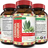 Candida Cleanse Supplement Natural Detox for men and women Boost Digestive Health Support Internal Wellness Probiotic Lactobacillus plus Cellulase Protease Enzymes 60 Capsules by California Products