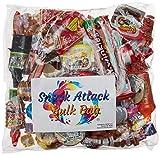 Mexican Candy Assortment Pinata Party Mix, 2.5 LB Bulk Bag: Mazapan, Lucas Candy, Pelon Pelo Rico, Pulparindo's, Rockaleta, Rebanaditas, Vero Lollipops & Rellerindos, Oblea, Bubulubu and Much More!