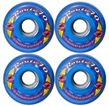 KRYPTONICS Route 70MM 78A Blue Longboard Cruiser Skateboard Wheels
