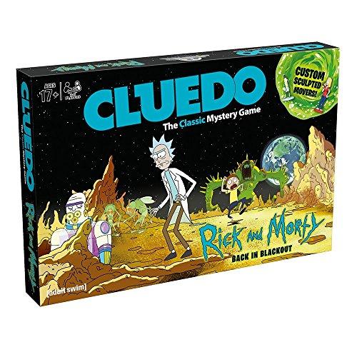 Cluedo 3210 Rick & Morty Board Game