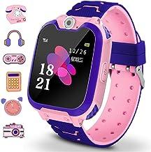 Winnes - Smartwatch per bambini con 7 giochi, funzione musica e sveglia, fotocamera, per 3 – 12 anni