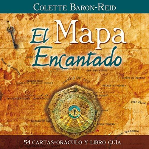 El Mapa Encantado: 54 cartas-oráculo y libro guía