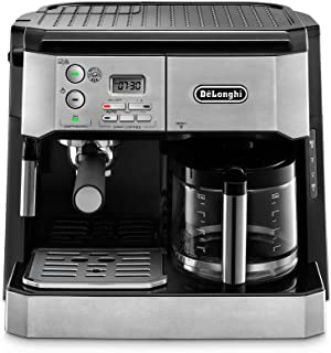 DeLonghi BCO430 Combination Pump Espresso and 10-Cup Drip Coffee Machine with Frothing..