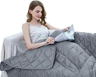 ZZZhen Weighted Blanket – High Breathability – 48''72''..