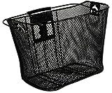 Schwinn Wire Basket for Bikes with Quick Release, Black