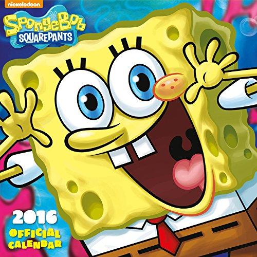 The Official Sponge Bob 2016 Square Calendar