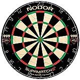 Nodor SupaMatch2 Regulation-Size Bristle Dartboard with...