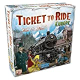 Ticket to Ride Europe Board Game | Family Board Game | Board Game for Adults and Family | Train Game | Ages 8+ | For 2 to 5 players | Average Playtime 30-60 minutes | Made by Days of Wonder (Video Game)